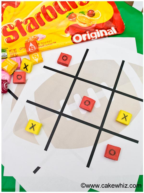 Football Party Game With Candies