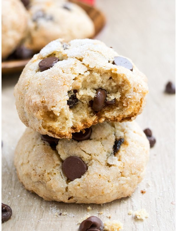 ricotta cheese chocolate chip cookies 1