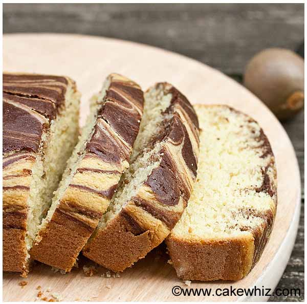 avocado marble cake