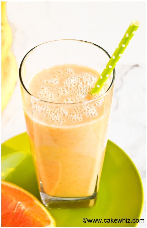 banana orange mango smoothie 2