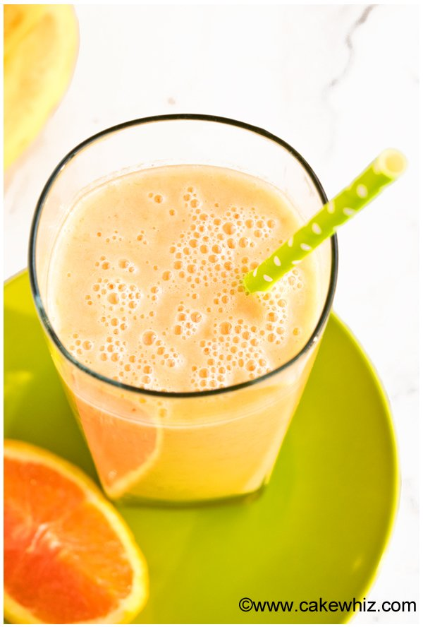 banana orange mango smoothie 4