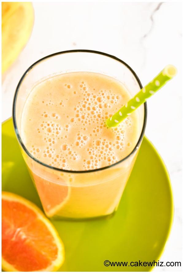 banana orange mango smoothie 4