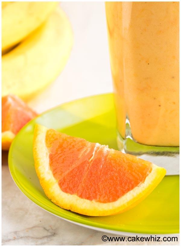 banana orange mango smoothie 5