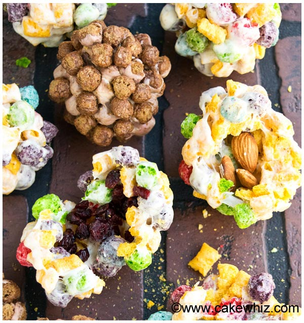 rainbow cereal balls 30