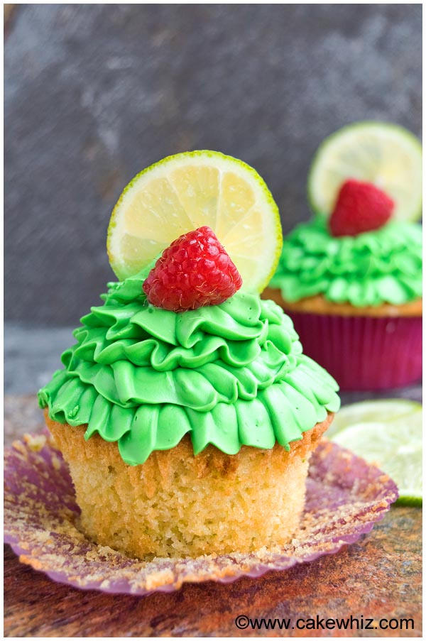 raspberry lime cupcakes 2