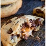 Salted Caramel Chocolate Chip Cookies Recipe From Scratch