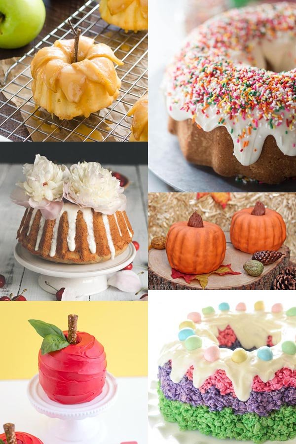 bundt cake decortating ideas