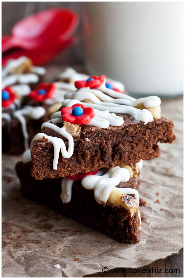 flourless nutella brownies 1