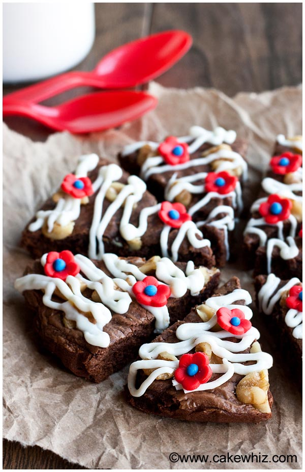 flourless nutella brownies 2