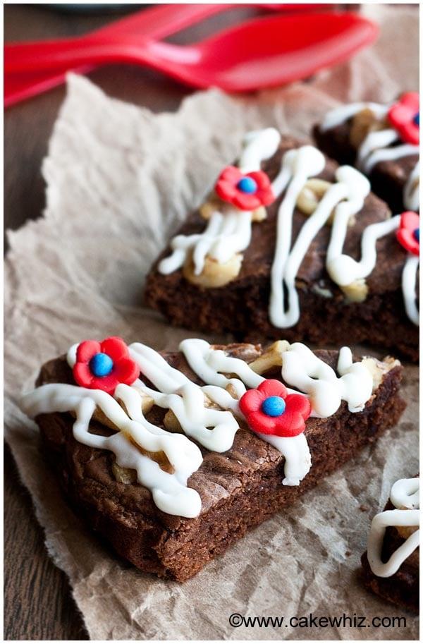 flourless nutella brownies 3