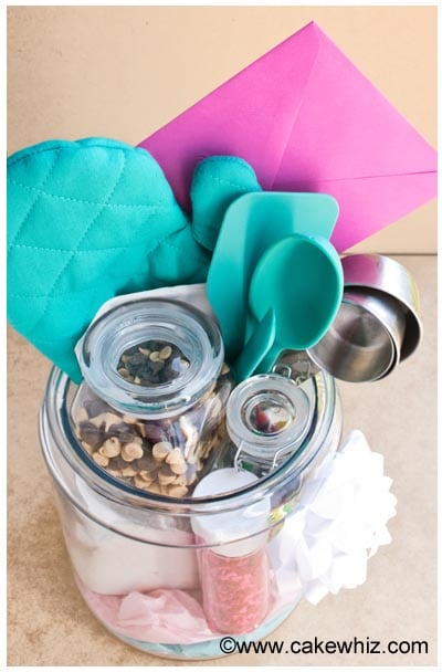 homemade baking kit in a jar 12