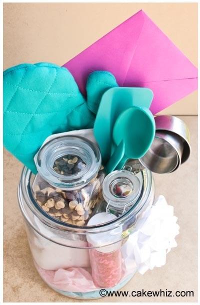 homemade baking kit in a jar 12