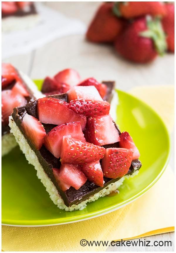 strawberry coconut bars 6