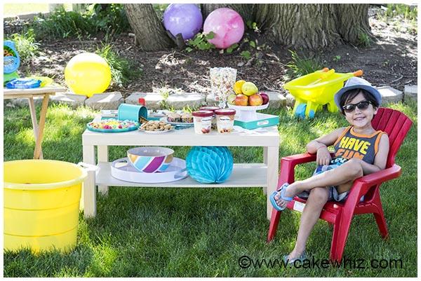 backyard kids summer party 3