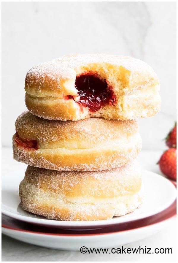 homemade jelly doughnuts 7