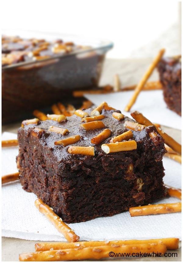pretzel brownies 1