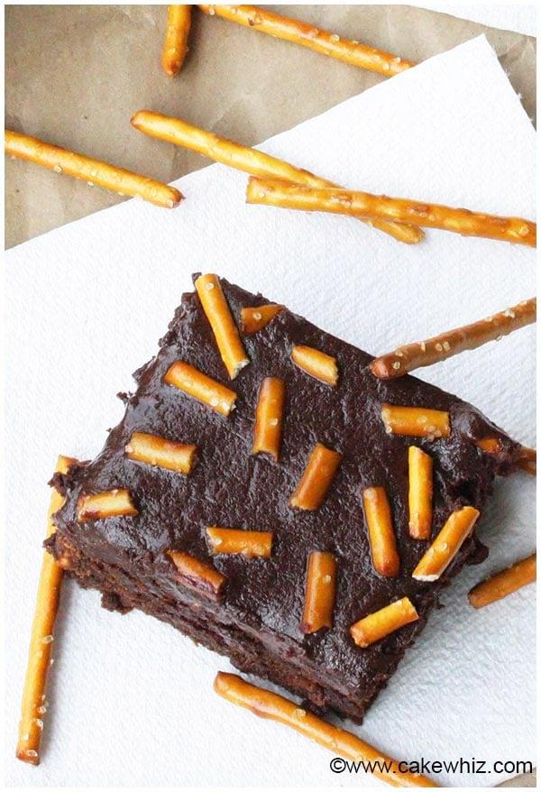 pretzel brownies 5
