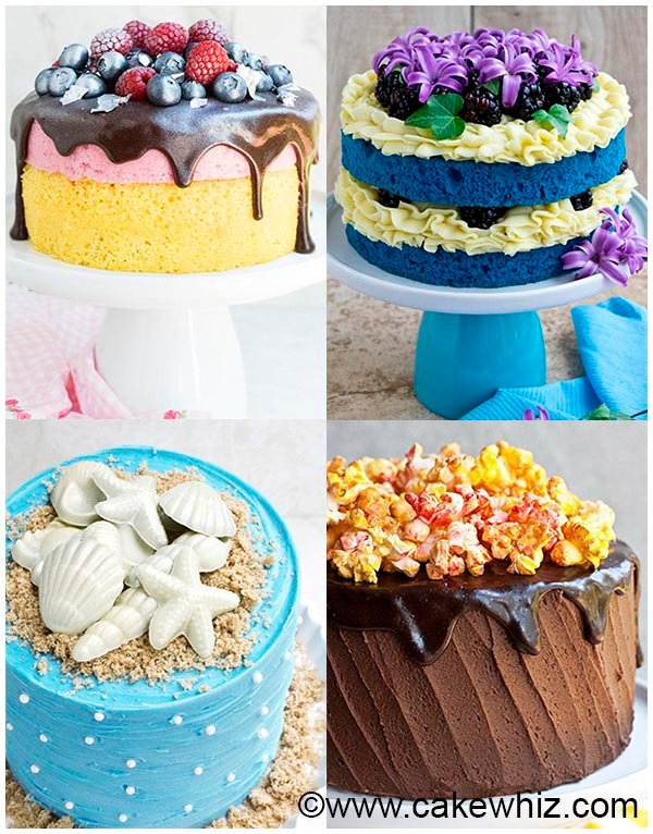 Easy Cake Decorating Ideas - Homemade cake decorating ideas