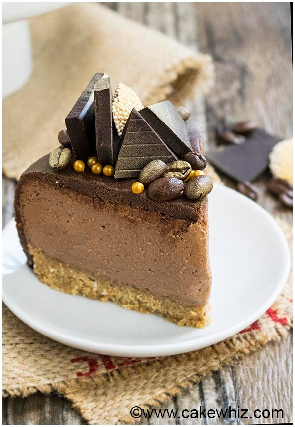 easy no bake mocha cheesecake 11