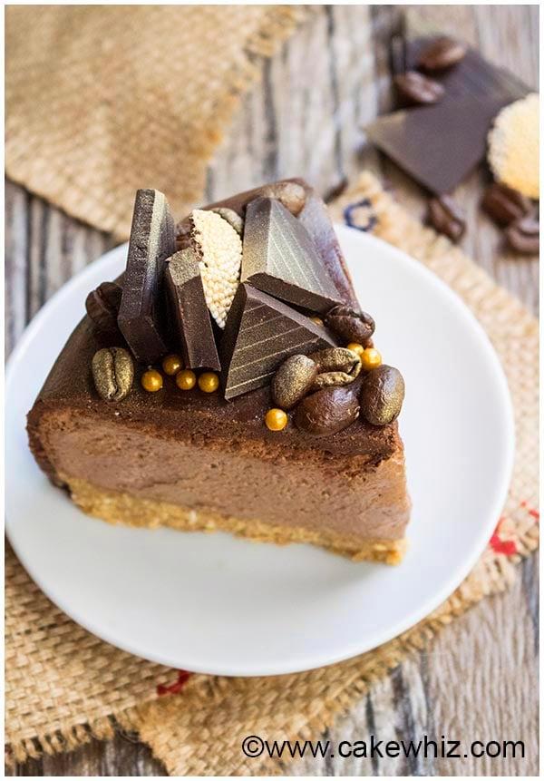 easy no bake mocha cheesecake 26