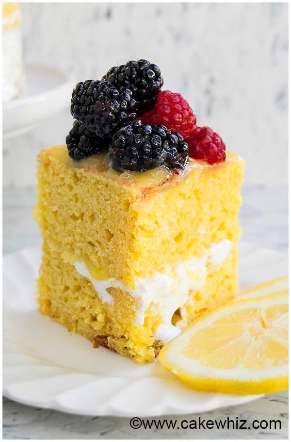 moist lemon cake recipe 4