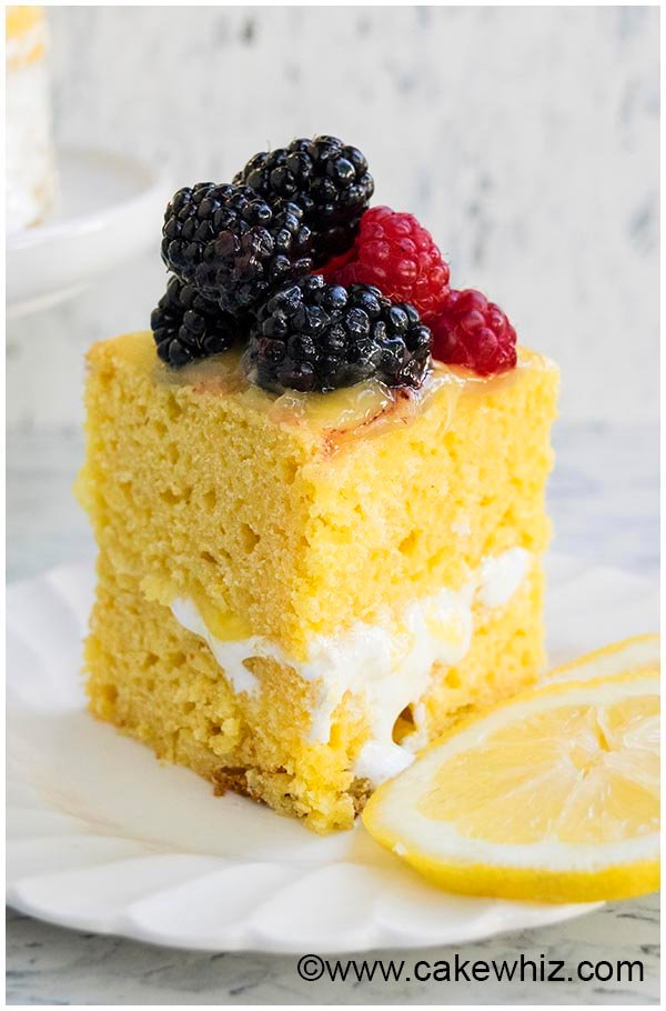 Moist Lemon Layer Cake Recipe From Scratch