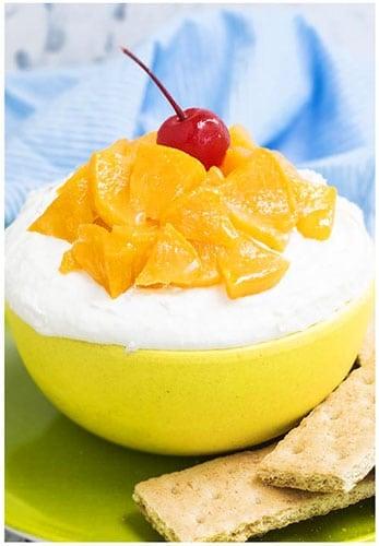Easy Peaches And Cream Dip Recipe