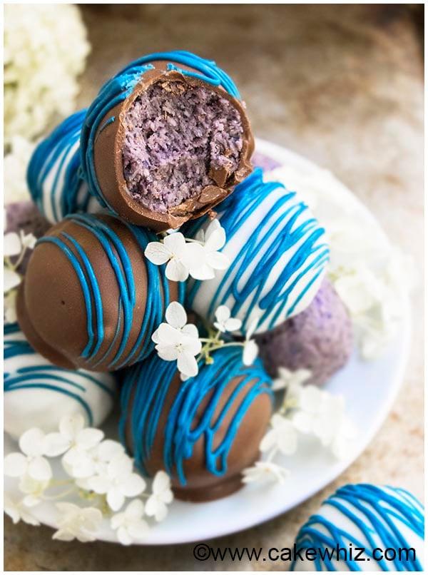healthy chocolate blueberry truffles recipe 7
