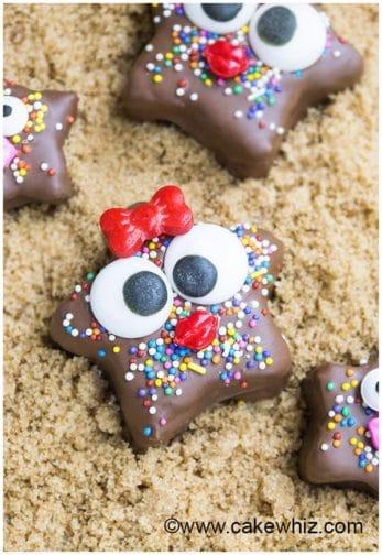 kids chocolate granola starfish recipe 6