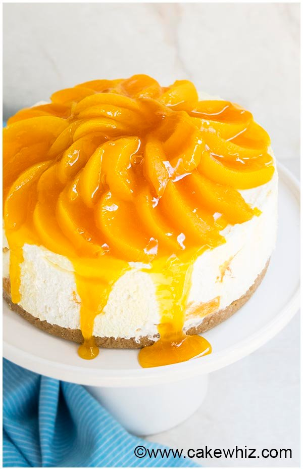no bake peach cheesecake recipe 6