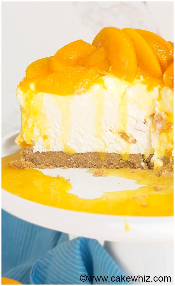 no bake peach cheesecake recipe 9