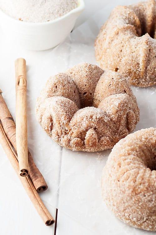 mini cinnamon toast bundt cakes