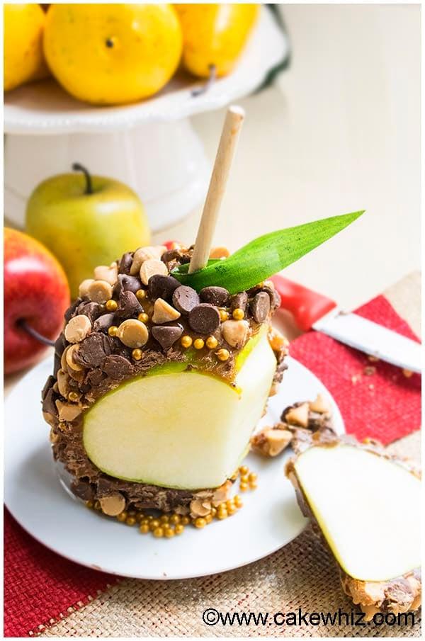 Chocolate Caramel Apples Recipe 3