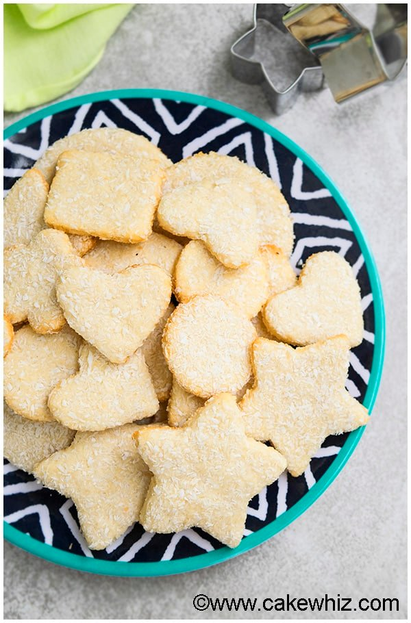 Coconut Sugar Cookies Recipe 2