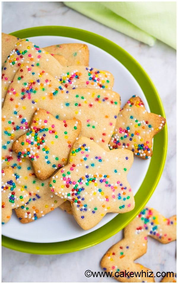 Cut Out Funfetti Sugar Cookies Recipe