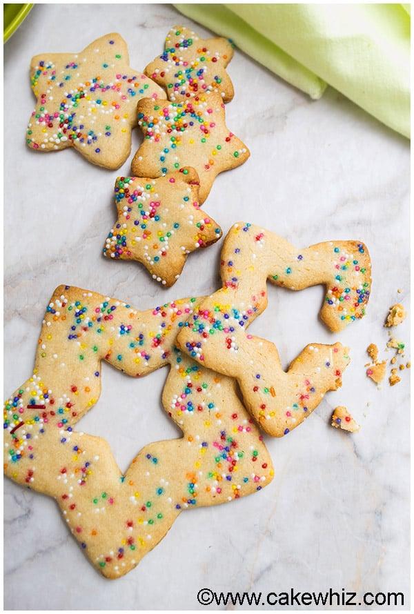 Funfetti Sugar Cookies (Cut Out Recipe) 3