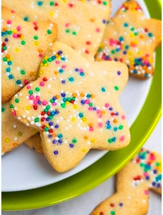 Easy Funfetti Cookies Recipe (Funfetti Sugar Cookies)