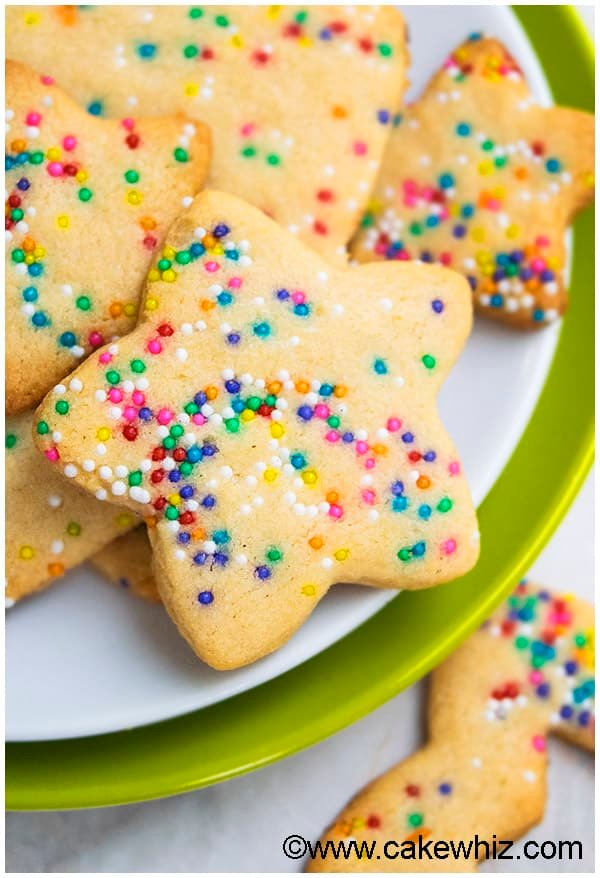 Funfetti Sugar Cookies (Cut Out Recipe) 6