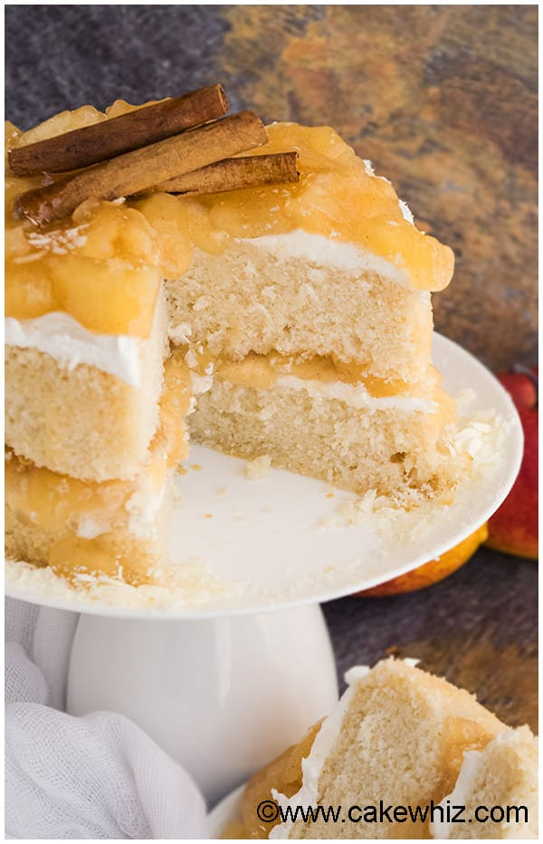 Apple Dump Cake With Cake Mix And Apple Pie Filling
