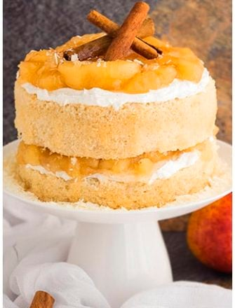 Easy Apple Pie Cake Recipe From Scratch