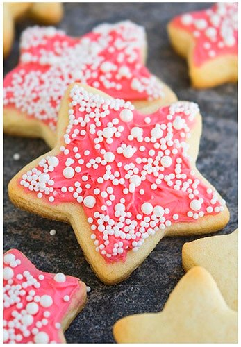 Champagne Cookies Recipe with Champagne Buttercream Frosting