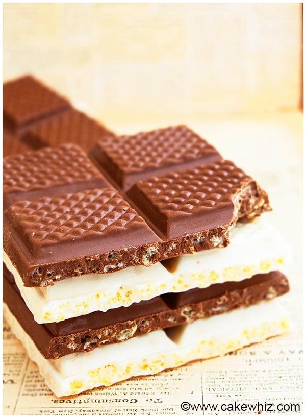 Easy Chocolate Crunch Bars Recipe 8