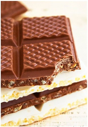 Easy No Bake Chocolate Crunch Bars Recipe