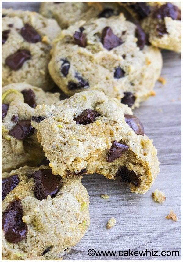 Avocado Cookies Recipe (Avocado Chocolate Chip Cookies) 1