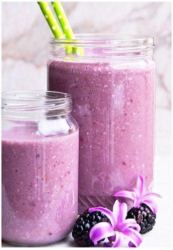 Easy Healthy Blackberry Smoothie Recipe