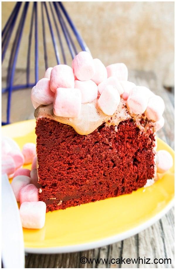 Red Velvet Cake Recipe For Stacking