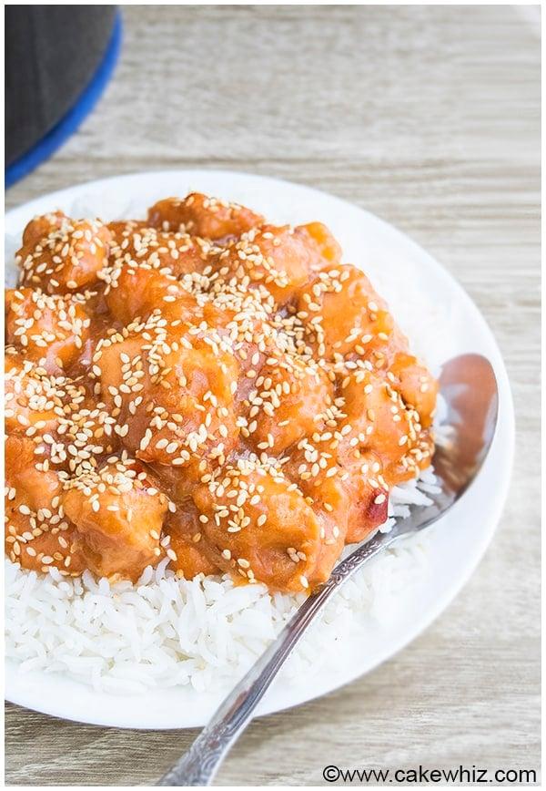 Slow Cooker Sesame Chicken Recipe 20