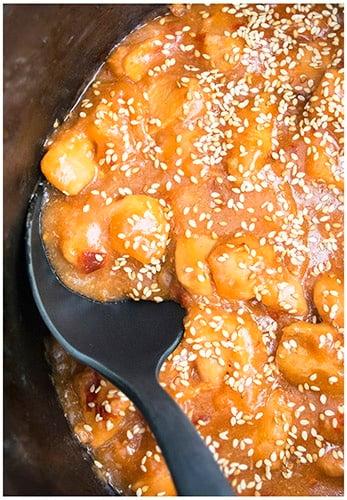 Slow Cooker Sesame Chicken Recipe 3