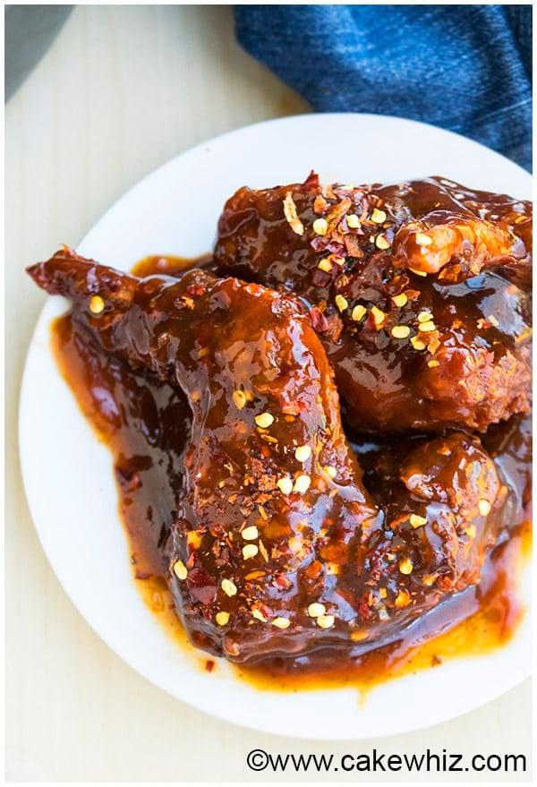 Spicy Honey BBQ Wings Recipe 2