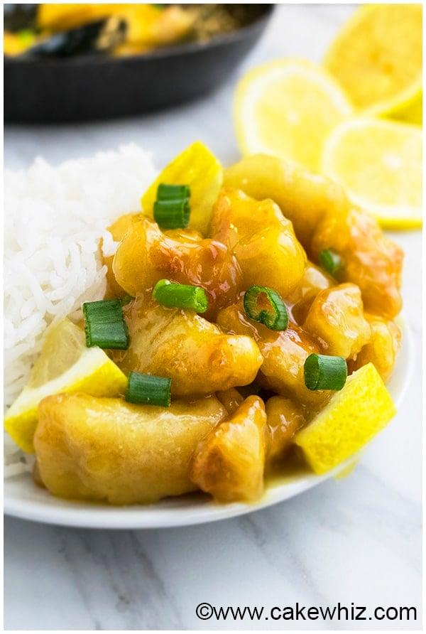 Chinese Lemon Chicken Recipe (Asian Lemon Chicken) 9